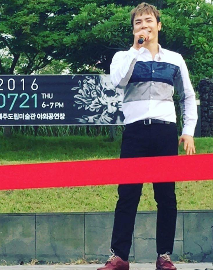 7.22 咸安(ハマン)芸術会館とか + All Shook UPカーテンコール動画